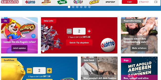 Swiss Lotto Online